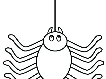 440x330 spider web printable spider coloring pages for preschoolers spider