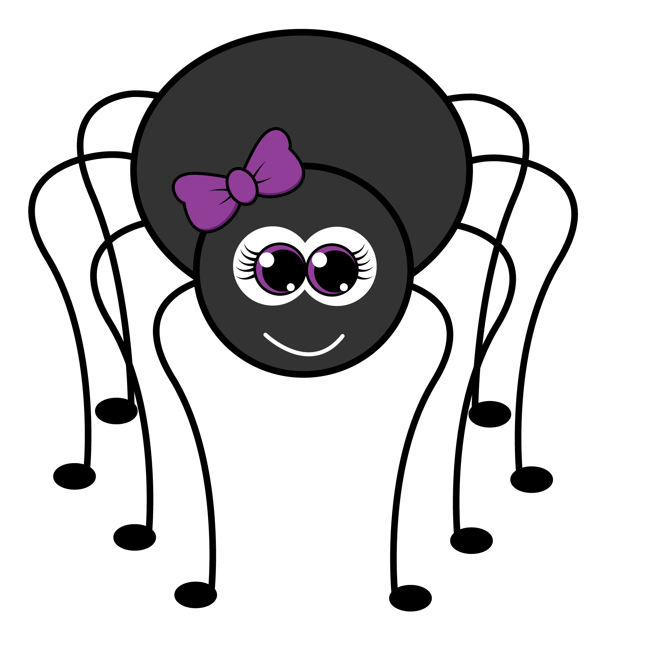 Cute Spider Drawing | Free download on ClipArtMag