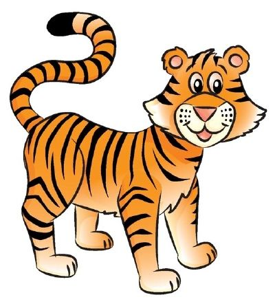 400x442 How To Draw A Tiger In Steps School Stuff Tiger Drawing