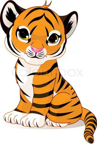 324x480 Vector Of 'cartoon, Cute, Vector' Random Cute Tiger Cubs, Cute