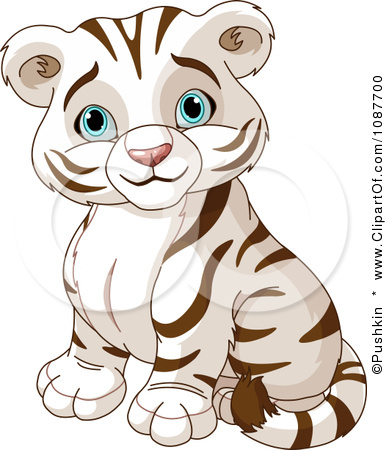 387x450 Cute Tiger Cartoon Drawing