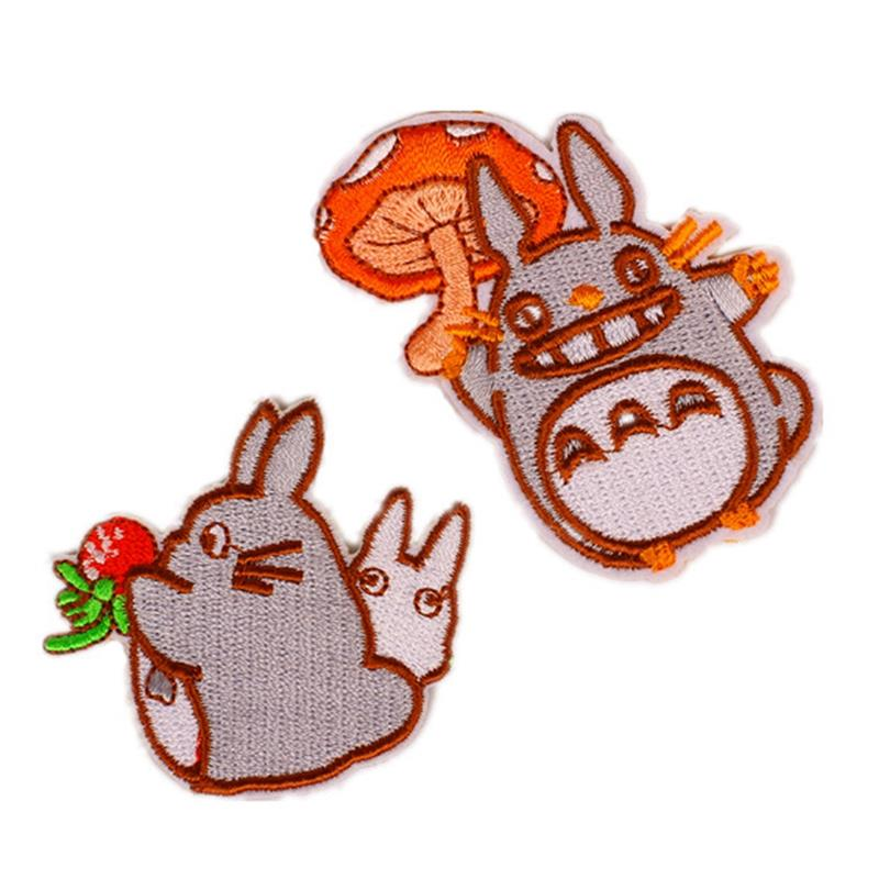 800x800 cute totoro iron on patches embroidery patch sew on patches