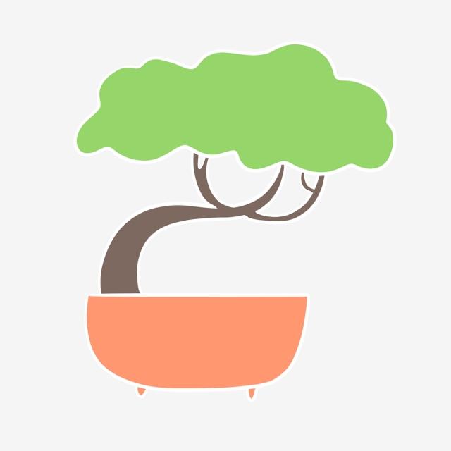 640x640 hand drawn cute house mini tree, mini tree, garden, drawing png