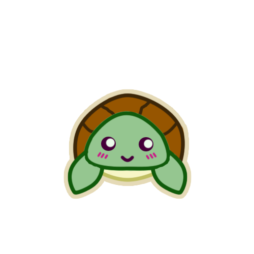 Cute Turtle Drawing