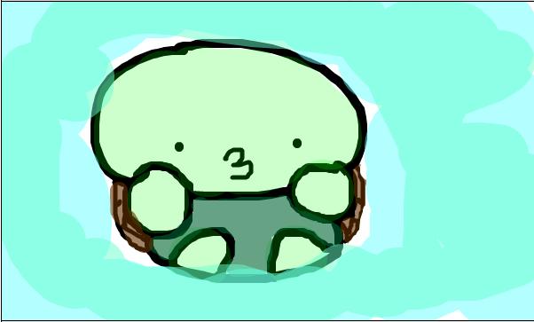 602x363 Cute Turtle Drawing Tumblr