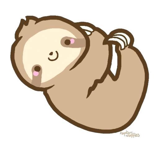 500x457 Drawings Of Sloths Cute Baby Sloth Drawings