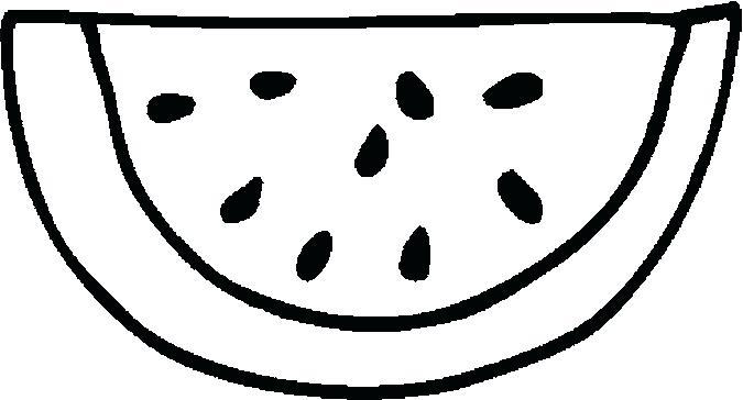 Cute Watermelon Drawing