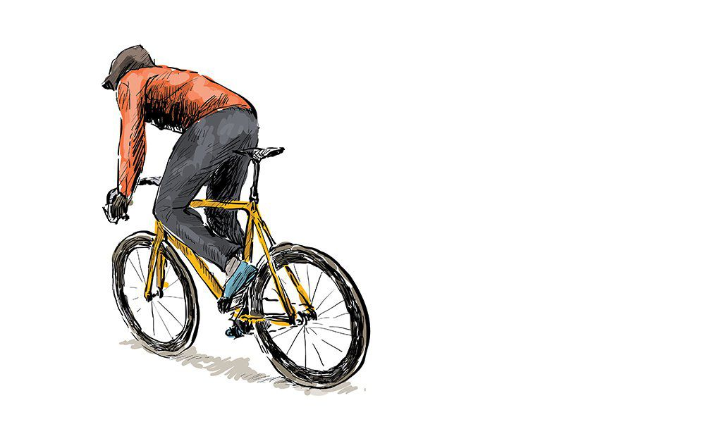 1000x636 This Cyclist's Moving Bike Drawing Will Have You Hypnotized