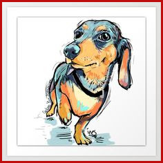 236x236 dachshund drawing best dachshund drawing images