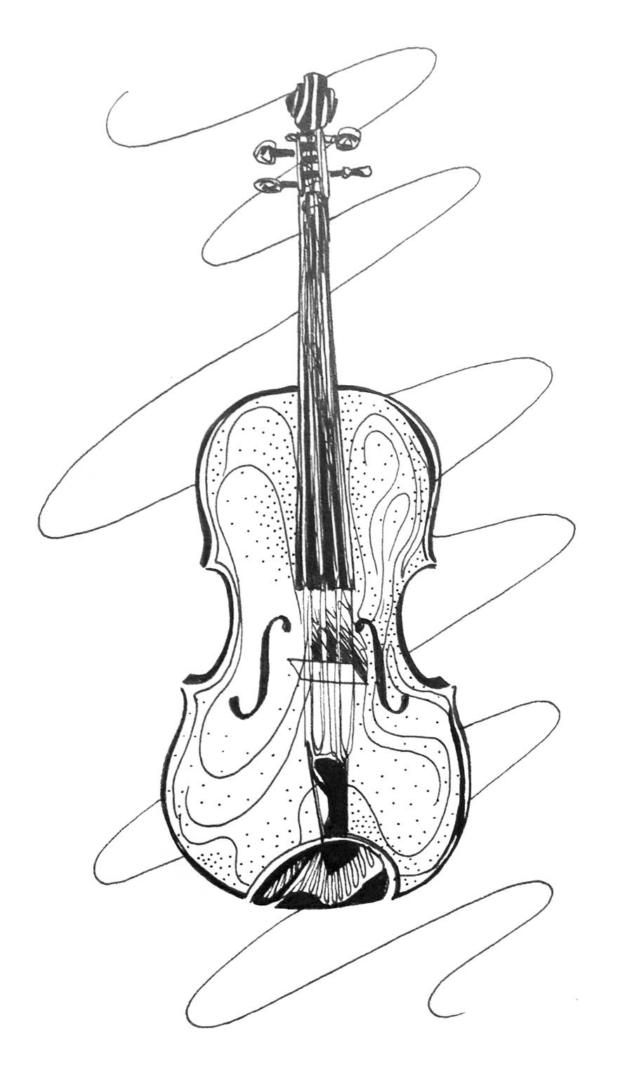900x1541 kh daily drawing daily drawing week strings viola