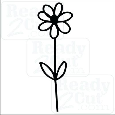 400x400 Simple Drawing Designs Daisy Simple Drawing Simple Pencil Sketch