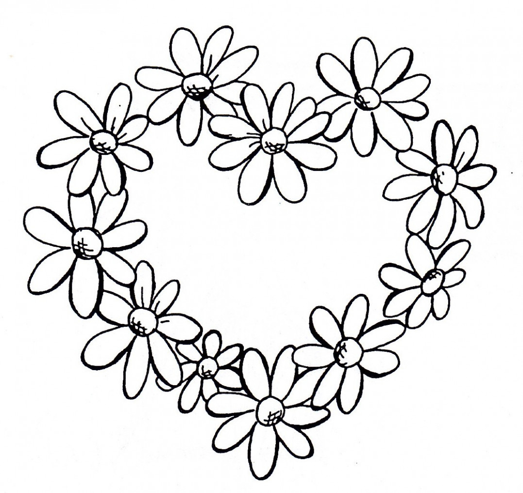 1077x1015 Top Seven Trends In Drawing Of A Daisy Flower To Watch Drawing