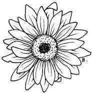 188x188 Image Result For Simple Sunflower Outline Tattooshenna