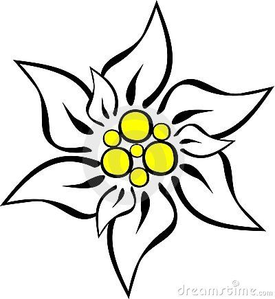 400x435 Collection Of Free Daisy Drawing Outline Download On Ui Ex