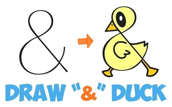 600x375 how to draw a duck easy drawn duck easy draw draw easy duck face