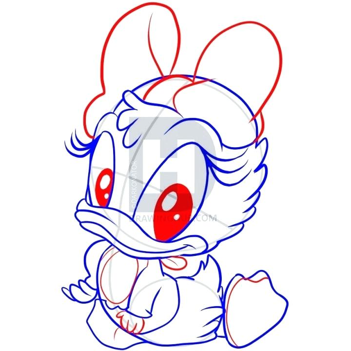 720x720 drawing of daisy duck mouse mickey mouse daisy duck drawing daisy
