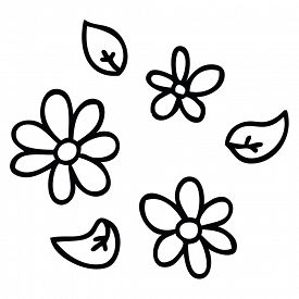 275x275 Line Drawing Daisy Photos And Images Crystalgraphics