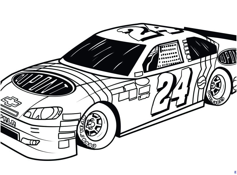 827x609 nascar coloring pages coloring pages nascar truck coloring pages