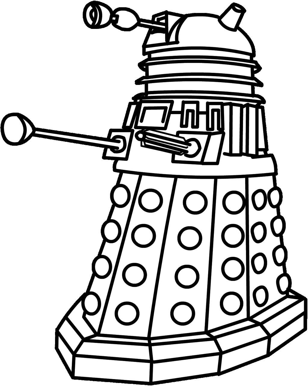 Dalek Drawing Free Download Best Dalek Drawing On