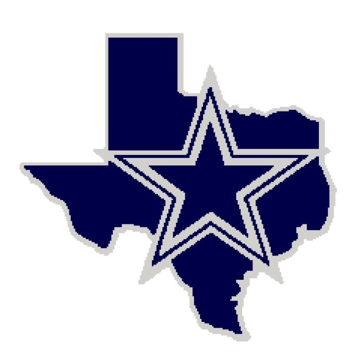 729x729 Dallas Cowboy Clipart