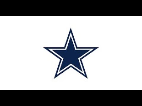 480x360 How To Draw The Dallas Cowboys Nfl Logo Drawing Tutorial