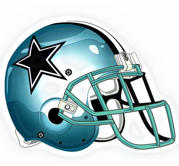 350x324 Dallas Cowboy Helmet Drawing