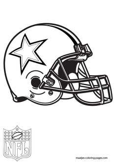 236x333 Dallas Cowboys Football Coloring Pages