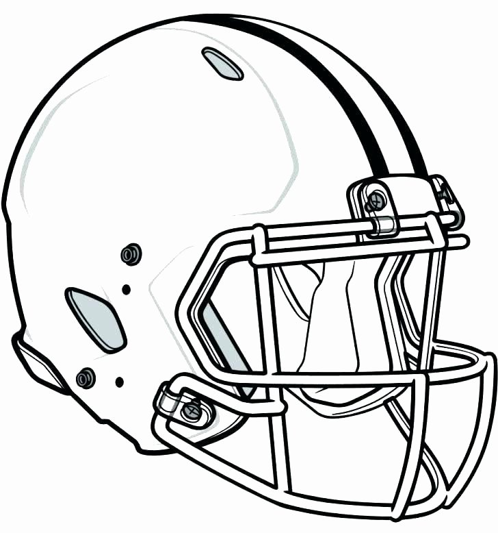 728x778 Football Helmet Design Templates Unique Football Helmet Coloring