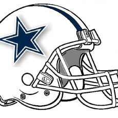 230x230 Lofty Dallas Cowboys Football Coloring Pages Good