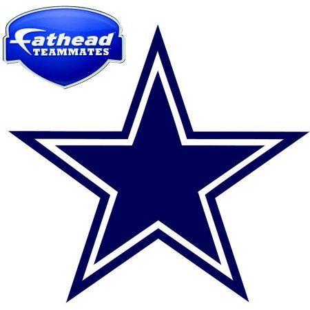 450x450 Fathead Dalas Cowboys Teammate Logo, Multicolor Products