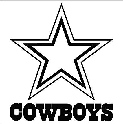425x427 Dallas Cowboys Nfl Window Sticker Decal