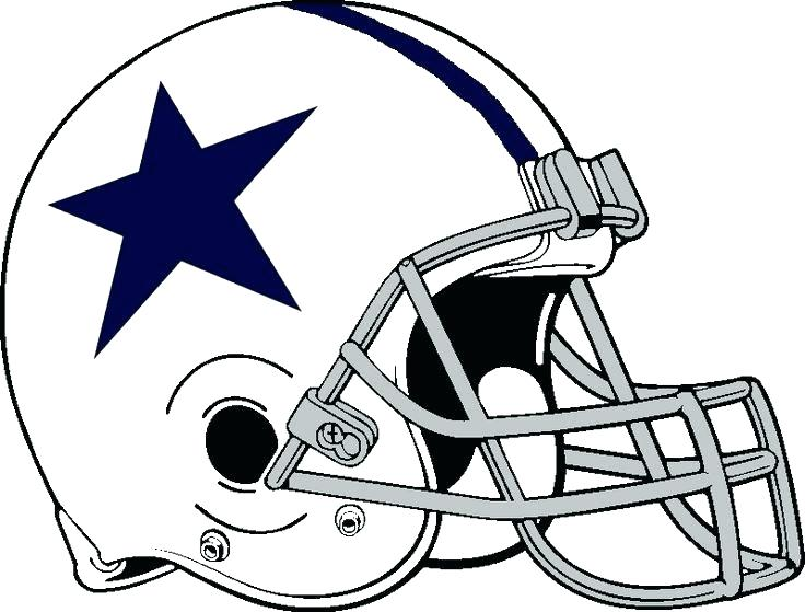736x559 Cowboys Logo Coloring
