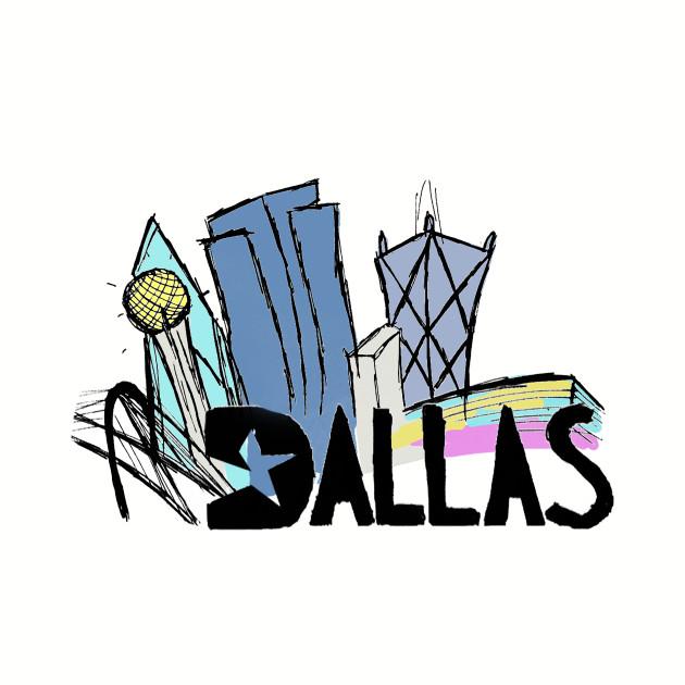 630x630 Dallas Skyline