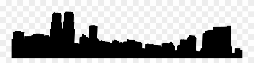 880x220 Skylines Drawing Silhouette