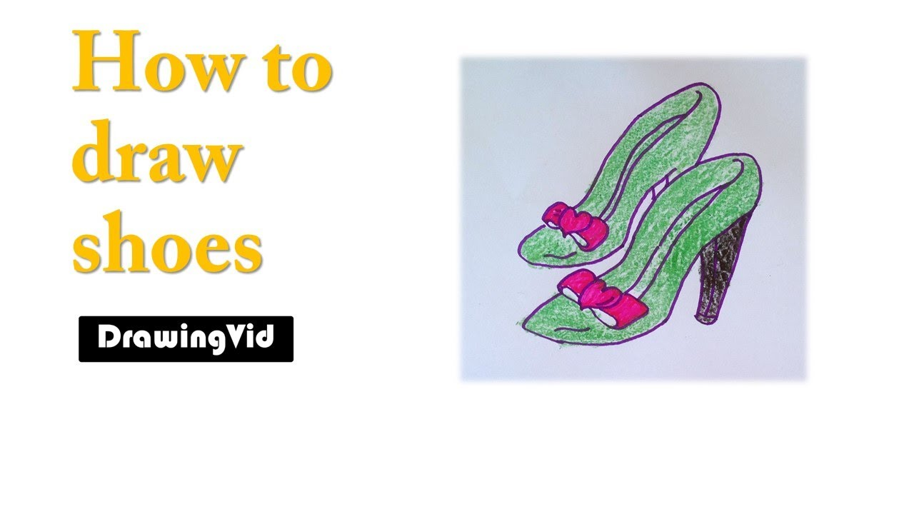 1280x720 How To Draw Dance Shoes