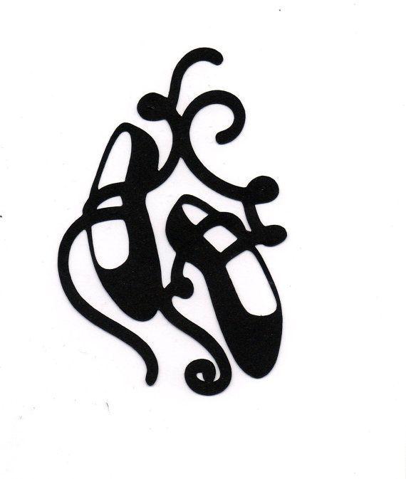 570x673 Ballet Shoes Clip Art