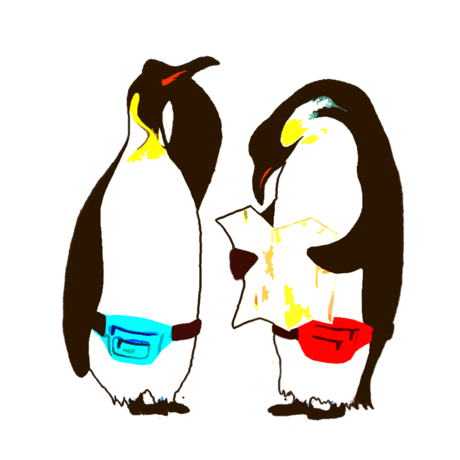 460x460 Freelance Drawing Dancing Penguin Transparent Png Clipart Free