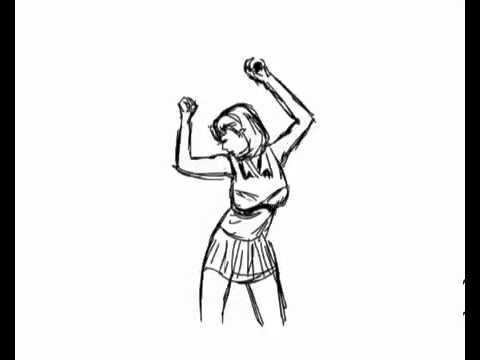 480x360 Huge Collection Of 'dancing Drawing Animation' Download More Than