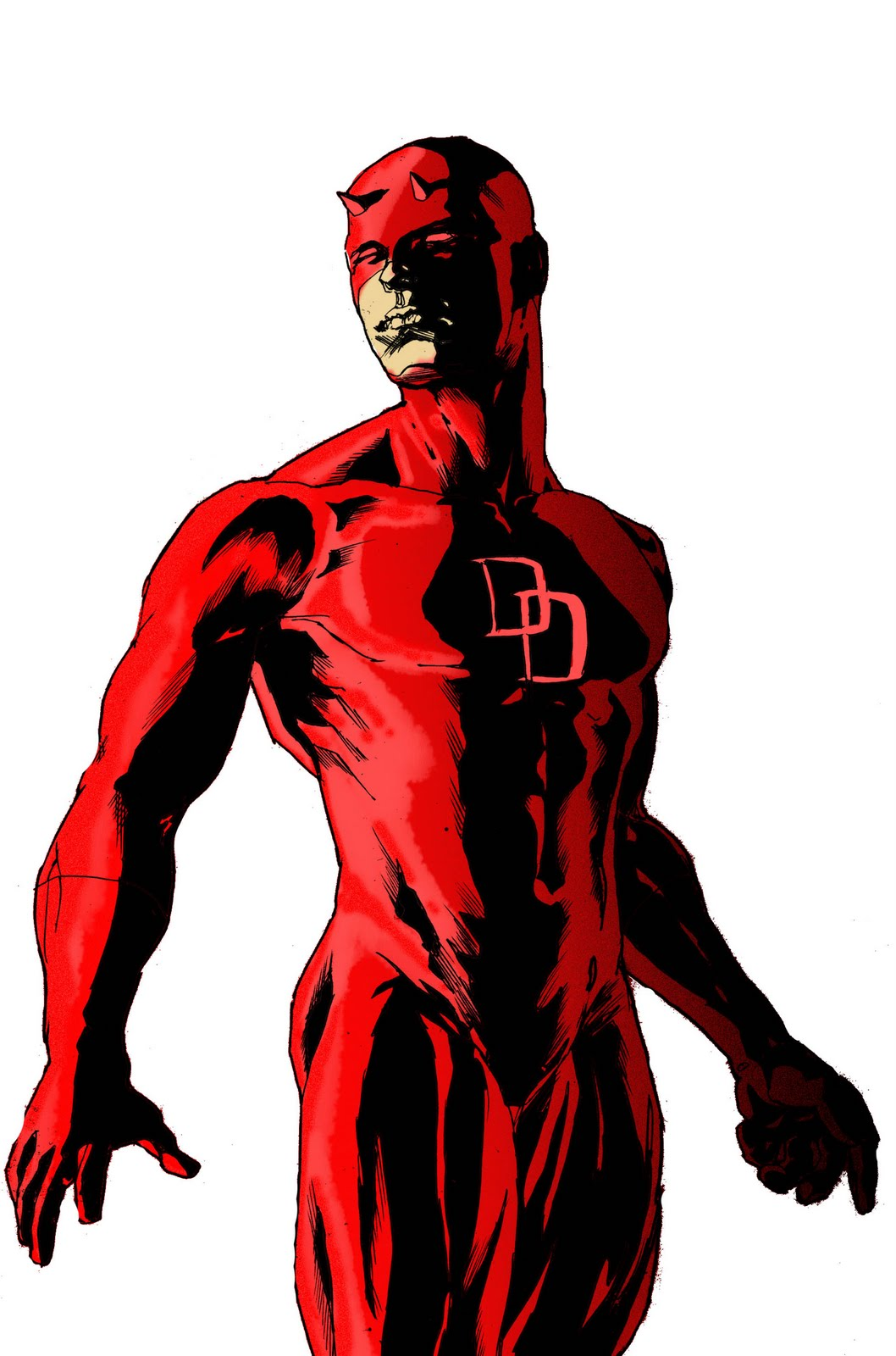 1058x1600 the art of mansloth cant stop drawing daredevil