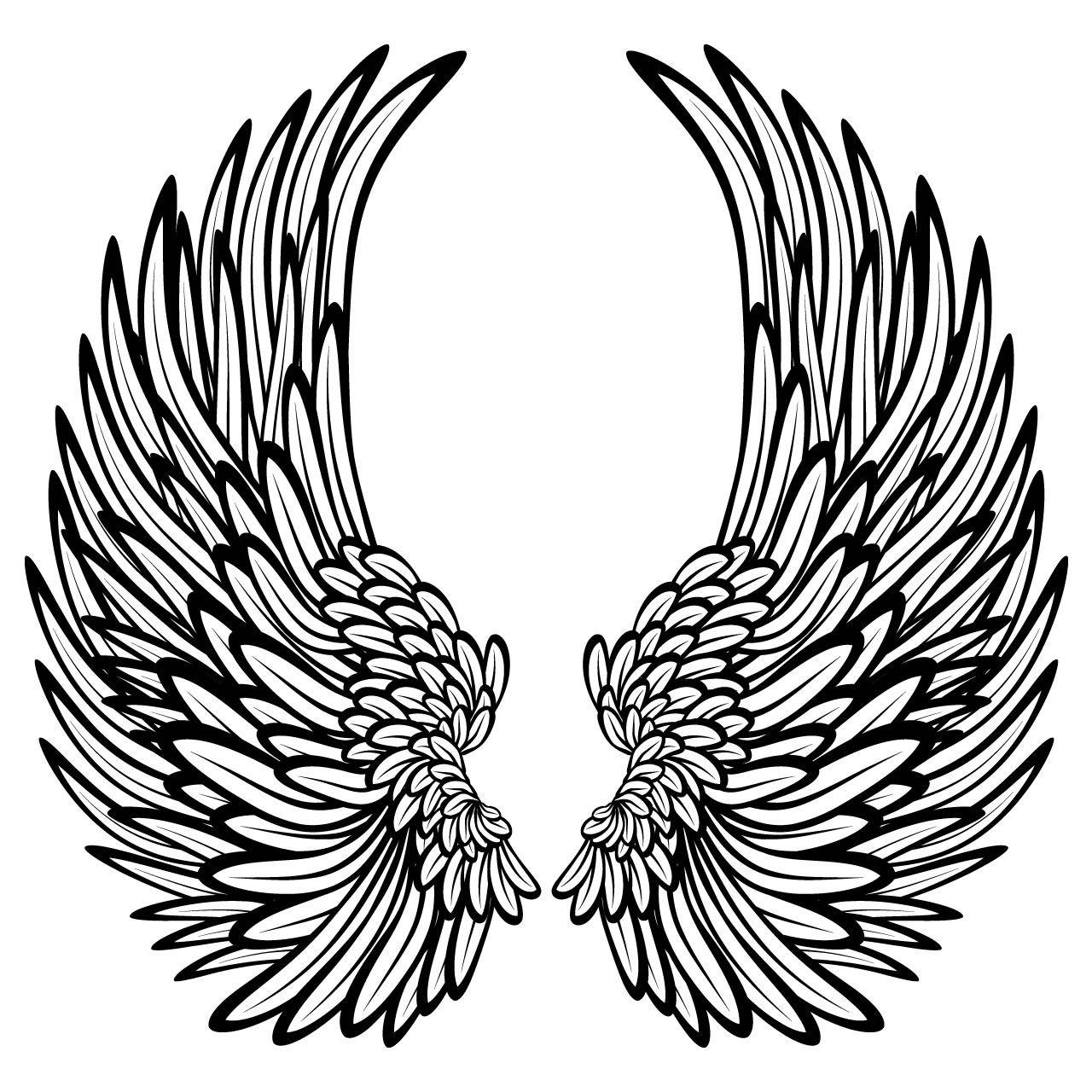 1280x1280 angel wings angels wings angel wings wall, wings, wings drawing