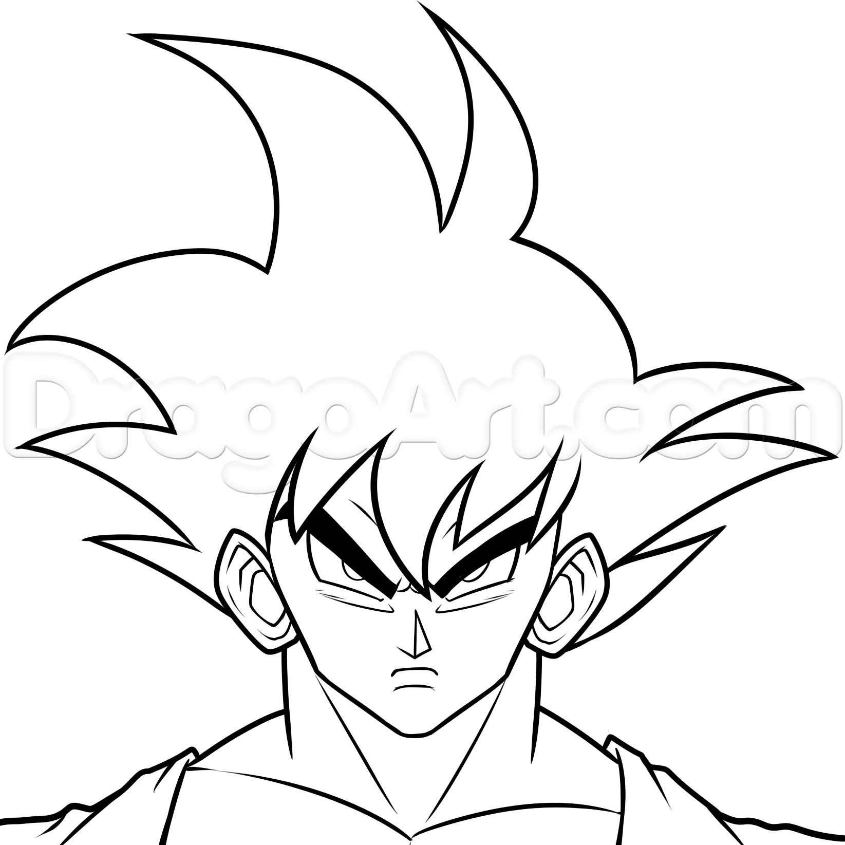 Collection of goku clipart free download best goku clipart on