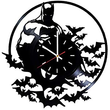 350x350 Batman Dark Somics Vinyl Record Wall Clock