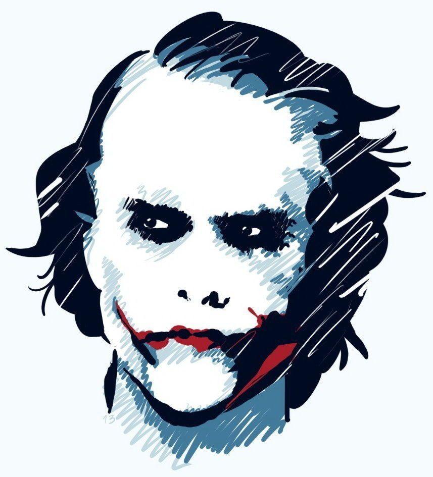 857x945 Details About The Joker Heath Bat Man High Quality T Shirt Iron