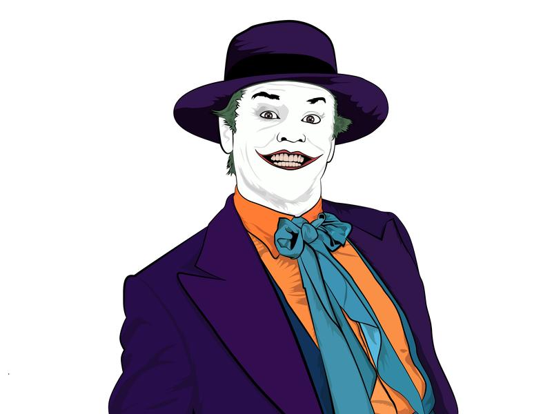 800x600 Joker Illustration