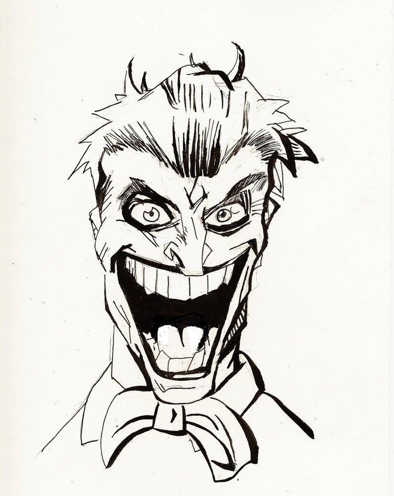 797x1002 Joker Drawing Free Download