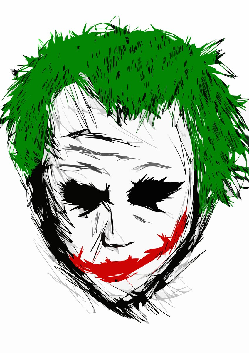 848x1200 Ryan Jardine On Twitter The Joker The Dark Knight