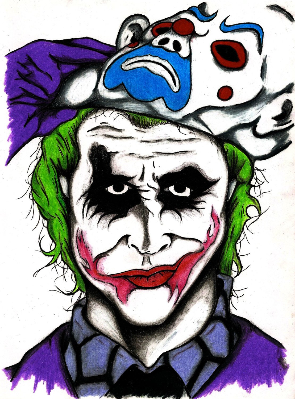 1109x1500 The Joker The Dark Knight Movie Character Print Wall Art Etsy