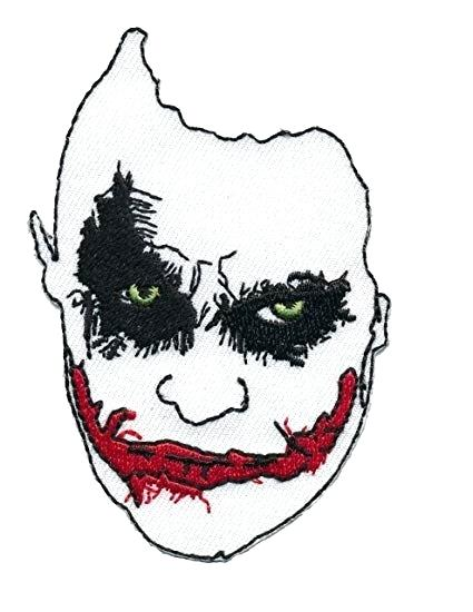 425x550 How To Draw A Joker Face