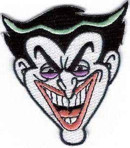 263x300 Batman The Dark Knight Joker Smile Embroidered Patch ! Ebay