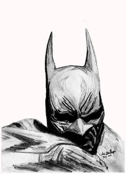 436x600 Batman The Dark Knight Drawings Fine Art America